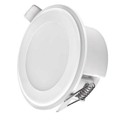 EMOS ZD 1312 LED panel 2v1 82mm, kruhový vestavný, 5,5W neutrální bílá - 1