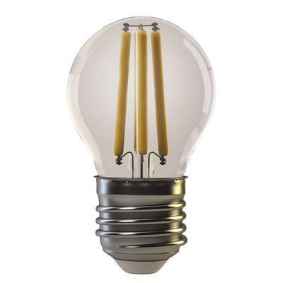 Emos Z74240  LED žárovka filament Mini Globe 4W E27 teplá bílá