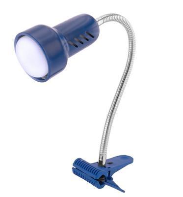 Sandria Lolek modrý tmavý stolní lampa s klipem