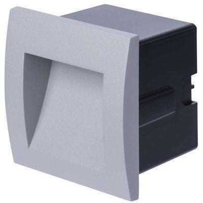 Emos Ligting LED orientační vestavné svítidlo čtv. teplá bílá IP65 - 1