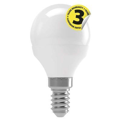 Emos ZQ1211 LED žárovka Classic Mini Globe 4W E14 neutrální bílá