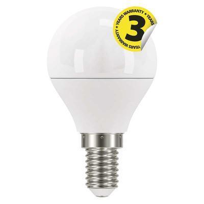 Emos ZQ1220 LED žárovka Classic Mini Globe 6W E14 teplá bílá - 1