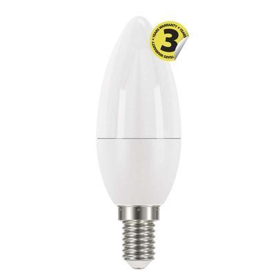 Emos ZQ3220 LED žárovka Classic Candle 6W E14 teplá bílá - 1