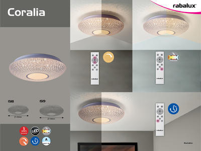 Rabalux 1519 Coralia LED stropní svítidlo - 2