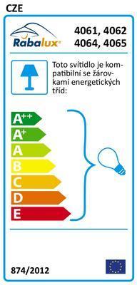 Stojací lampa Action 4061 Rabalux - 2