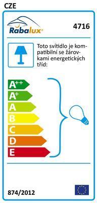 Závěsné dětské svítidlo Abc 4716 Rabalux - 2