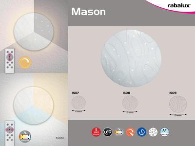 Rabalux 1508 Mason LED stopní svítidlo - 2