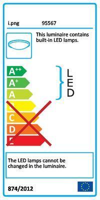 Eglo 95567 Lasana 1 stropní LED svítidlo - 2