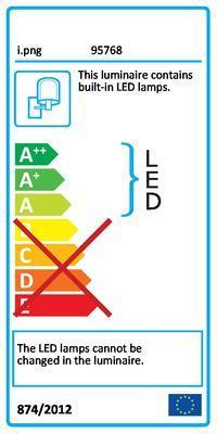 Eglo 95768 Lasana nástěnné LED svítidlo - 2