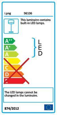 Eglo 96106 Lasana 2 stojací LED svítidlo - 2