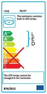 Eglo 96107 Lasana 2 stropní LED svítidlo - 2