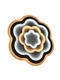 Avide 9570085 Rosa LED stropní svítidlo - 2/3