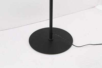 Avide HT 8008 F 9900034 stojací lampa černá - 3